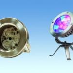 Подводные светодиодные светильники для фонтанов