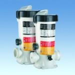 Полуавтоматический дозатор хлора, брома или кислорода